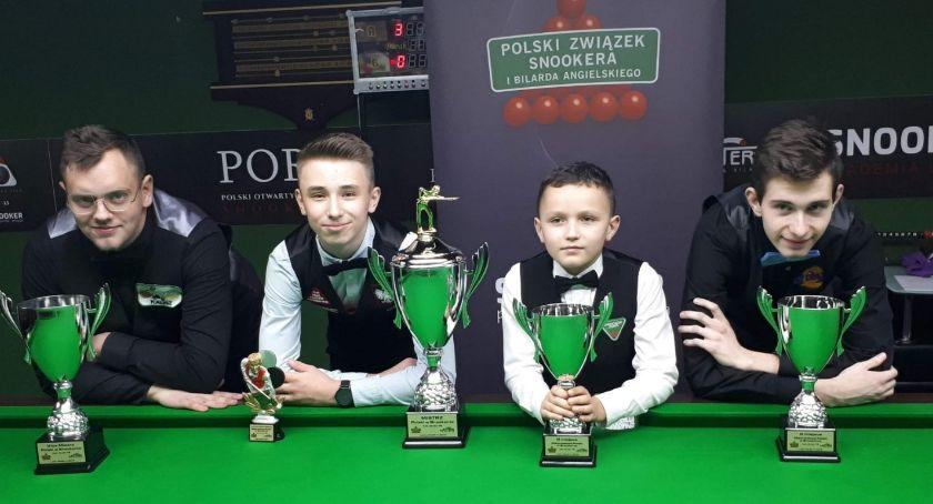 Snooker, Wicemistrzostwo Polski zawodnika Kalisza - zdjęcie, fotografia