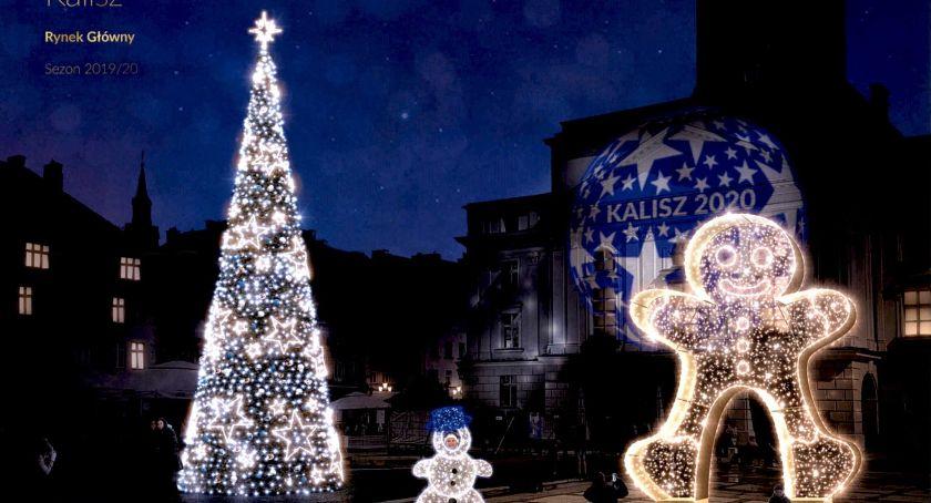 Miejski krajobraz, Świąteczne iluminacje całym mieście - zdjęcie, fotografia