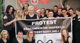 Czarny protest Inspekcji Weterynaryjnej