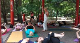Międzynarodowy Dzień Jogi w Kaliszu. Uczestniczki ćwiczyły pod okiem instruktorek