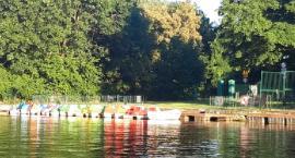 Kaliska przystań rowerów wodnych – upał wystraszył amatorów pływania
