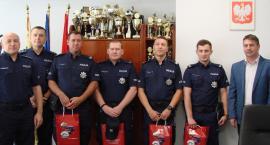 Policjanci wyróżnieni za ratowanie tonących