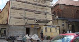 Budynek przy ul. św Stanisława 2 w Kaliszu - siedziba Społem w remoncie