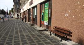 Przy ul. Śródmiejskiej pojawiły się ławki