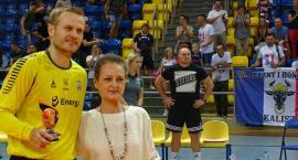 Kaliski bramkarz Mikołaj Krekora bohaterem meczu półfinałowego w turnieju Szczypiorno Cup - ZDJĘCIA