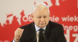 Jarosław Kaczyński na przedwyborczej konwencji w Kaliszu