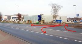 Nowa droga do Galerii Amber i dworca PKP