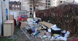 Śmieci wielkogabarytowe zanieczyszczają cały Kalisz
