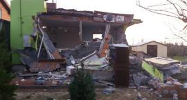 Wybuch w Sulisławicach rozwalił dom, ale  człowiek w środku jakimś cudem przeżył