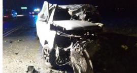 Tragiczny wypadek w Kościelnej Wsi i zderzenie trzech aut w Szosie Tureckiej