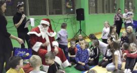 Mikołaj na osiedlu Rajsków