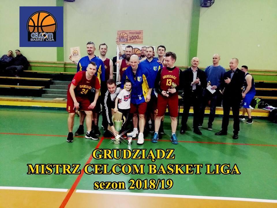 Koszykówka, Grudziądz drugi mistrzem Celcom Basket - zdjęcie, fotografia