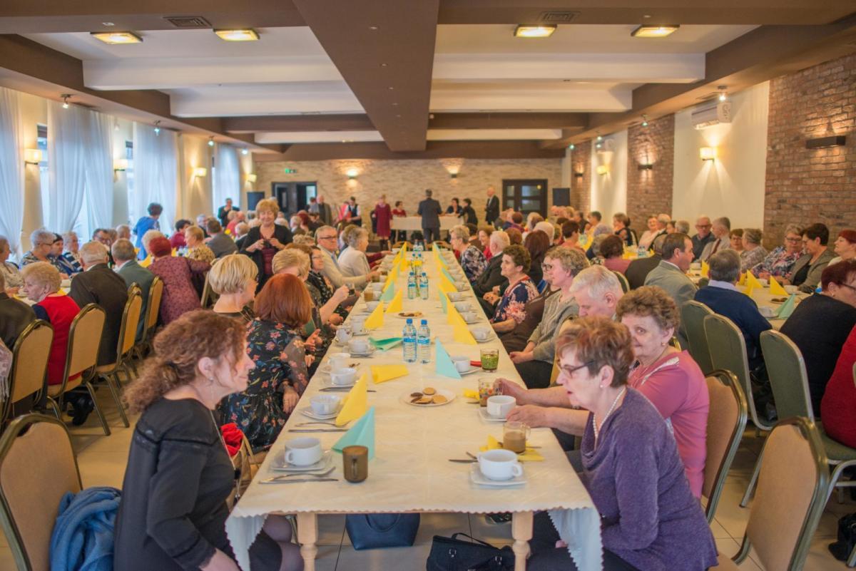 Imprezy, Stowarzyszenie Emerytów Rencistów Inwalidów Gminy Pruszcz podsumowało zeszły przedstawiło plany obecny - zdjęcie, fotografia