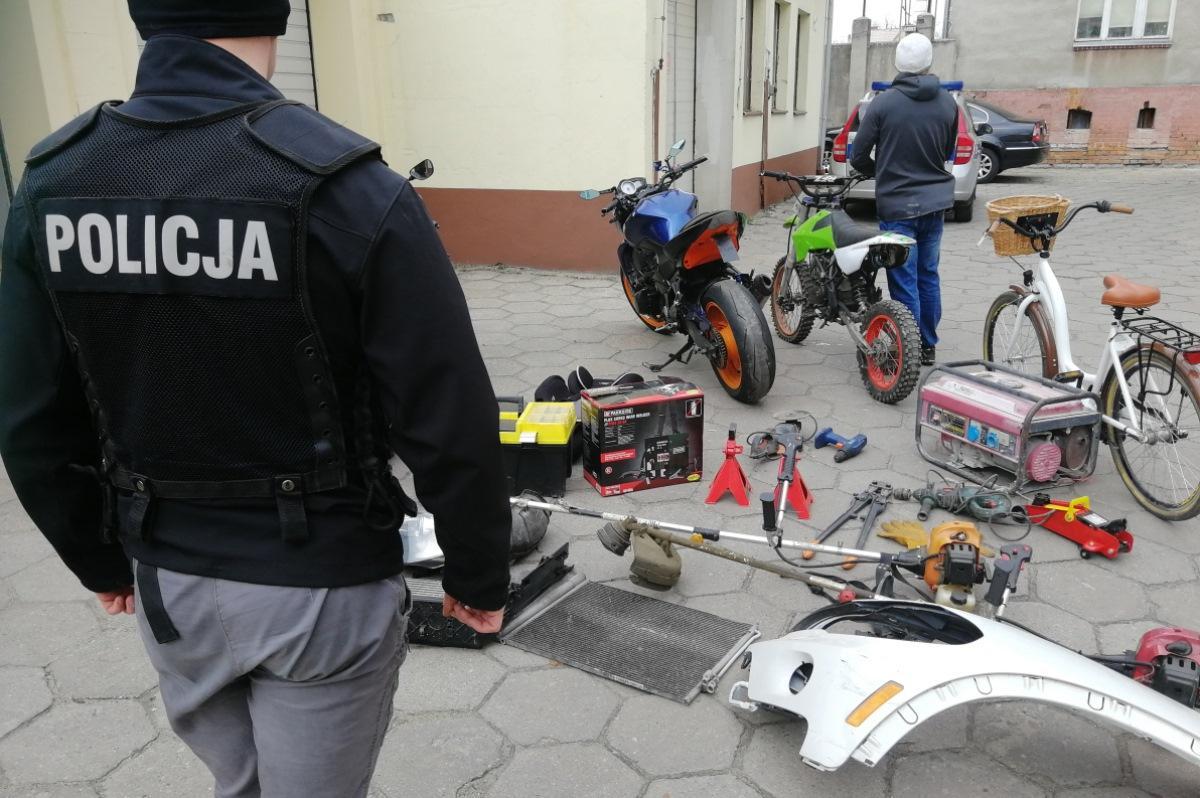 Piraci drogowi, Seryjni włamywacze złapani Grozi - zdjęcie, fotografia