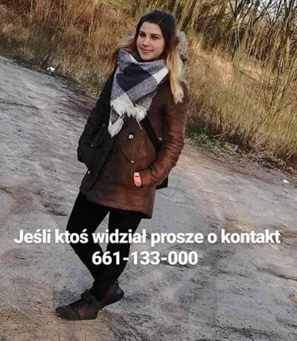 Poszukiwani, Zaginęła Paulina Ostatni była widziana Warlubiu - zdjęcie, fotografia