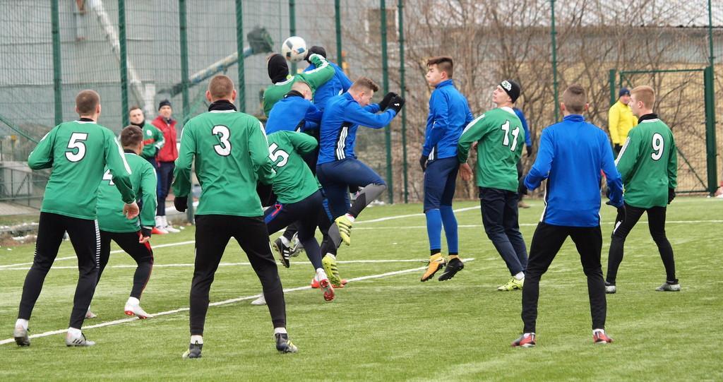Piłka nożna, Świecie bezbramkowo zremisowała sparingu Legią Chełmża [ZDJĘCIA] - zdjęcie, fotografia