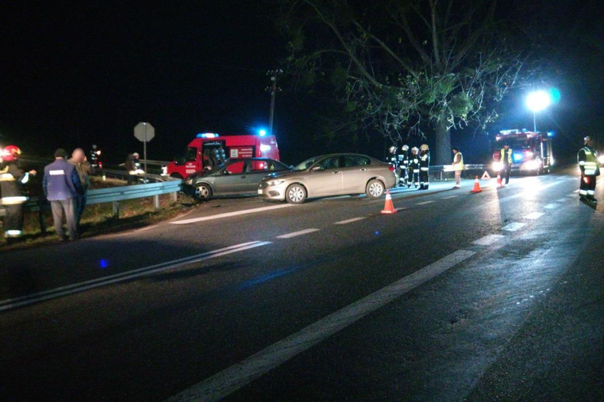 Wypadek drogowy, Wypadek Plewnie Kobieta wymusiła pierwszeństwo Staranowała [ZDJĘCIA] - zdjęcie, fotografia