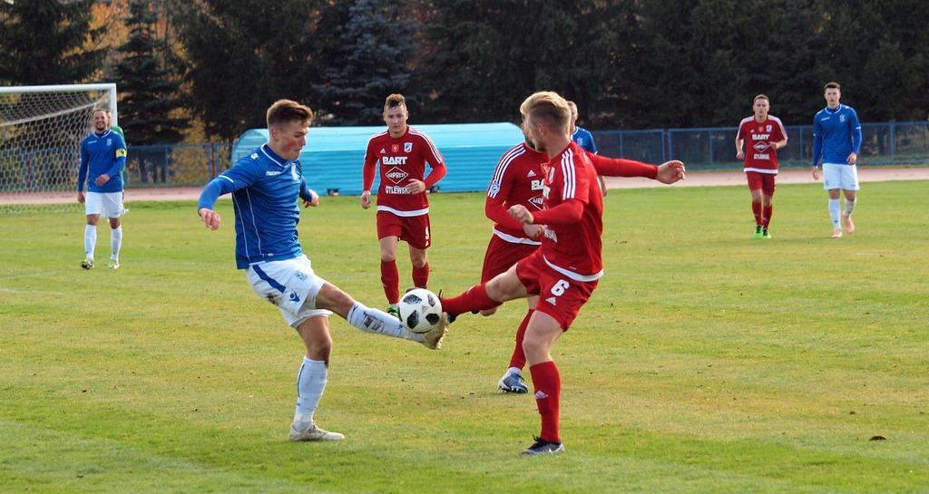 Piłka nożna, Świecie wysoko przegrała rezerwami Lecha Poznań [ZDJĘCIA] - zdjęcie, fotografia