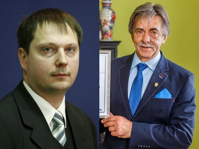 Wybory Samorządowe 2018, Tadeusz Pogoda Paweł Knapik zamienią miejscami czwarty kandydat burmistrza - zdjęcie, fotografia