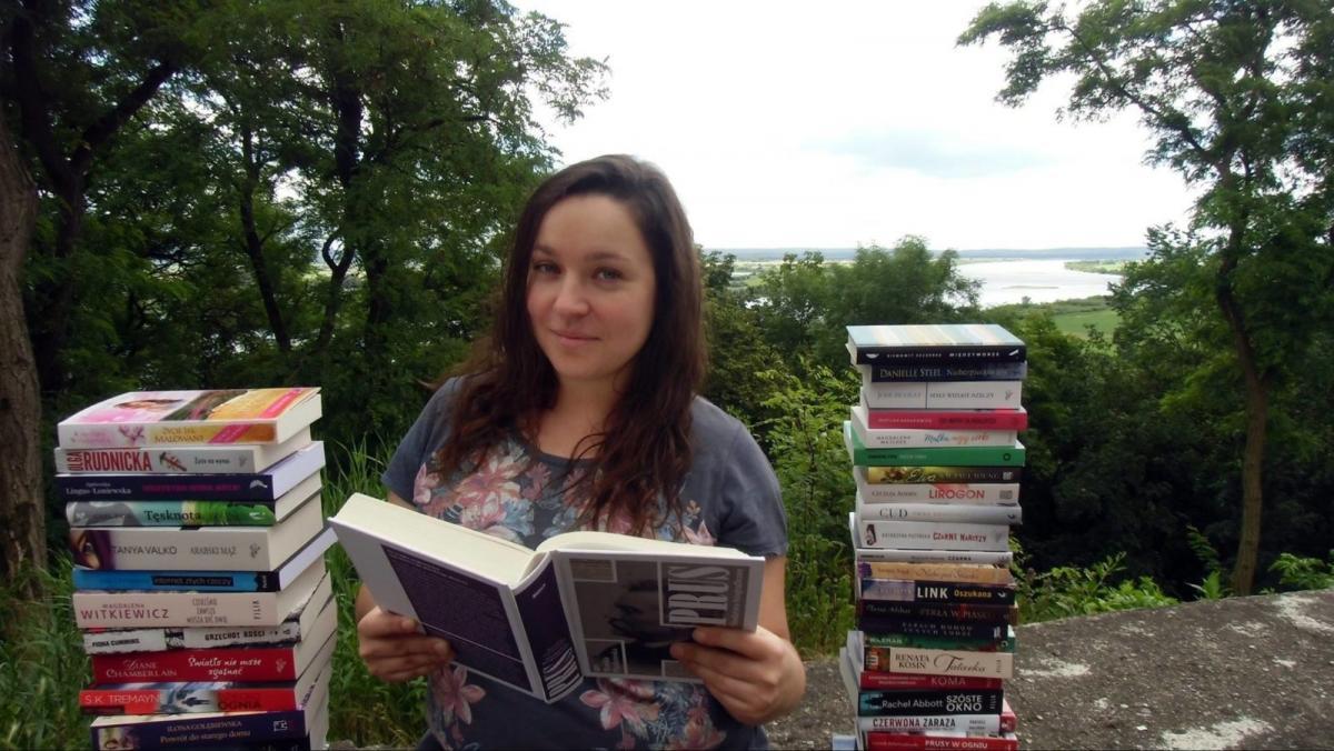 Z klasą, Dorota Kortas bibliotekarka powołania Jeśli wolnym czasie akurat czyta książek stara podróżować - zdjęcie, fotografia