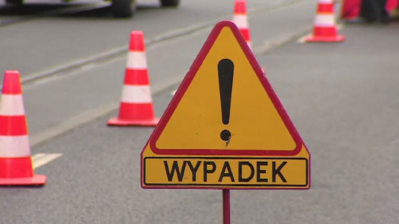 Wypadek drogowy, Wypadek centrum Świecia pasach potrącona została letnia kobieta Sprawcą policjant - zdjęcie, fotografia