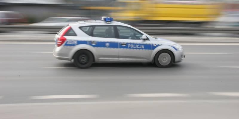 Piraci drogowi, Policyjna obława - zdjęcie, fotografia