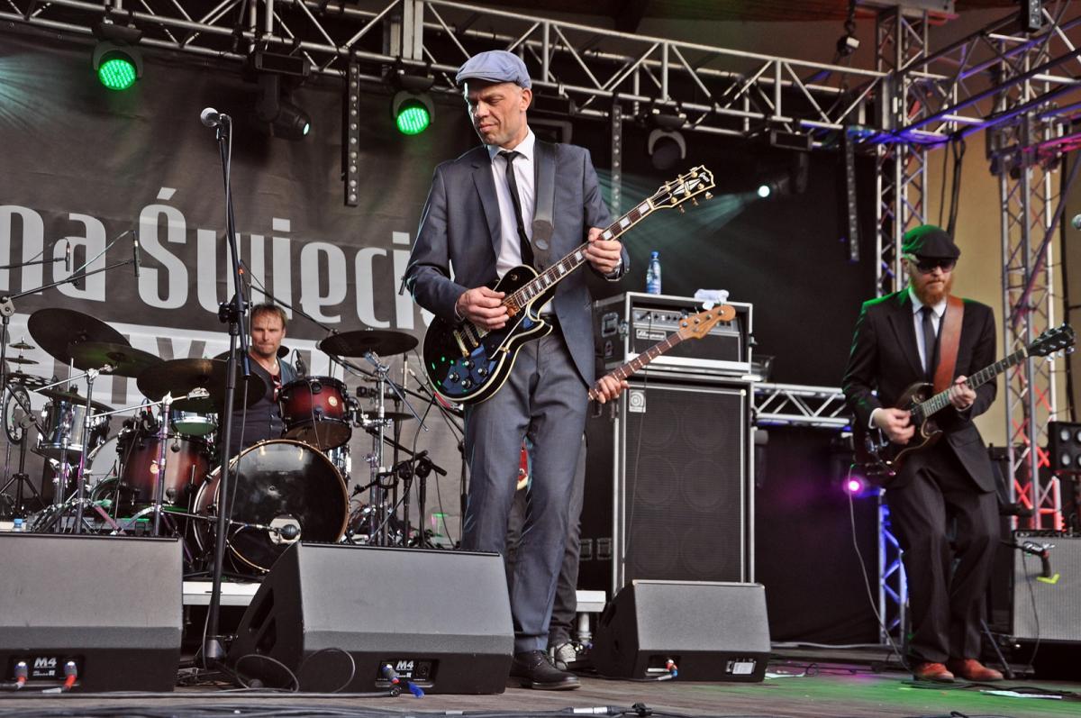 Festiwale, pierwszym Blues Świecie Festival - zdjęcie, fotografia