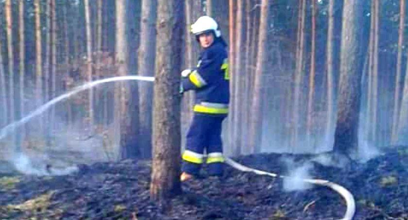 Pożar, Pożar Zdrojewie Było włos katastrofy Pohulance - zdjęcie, fotografia