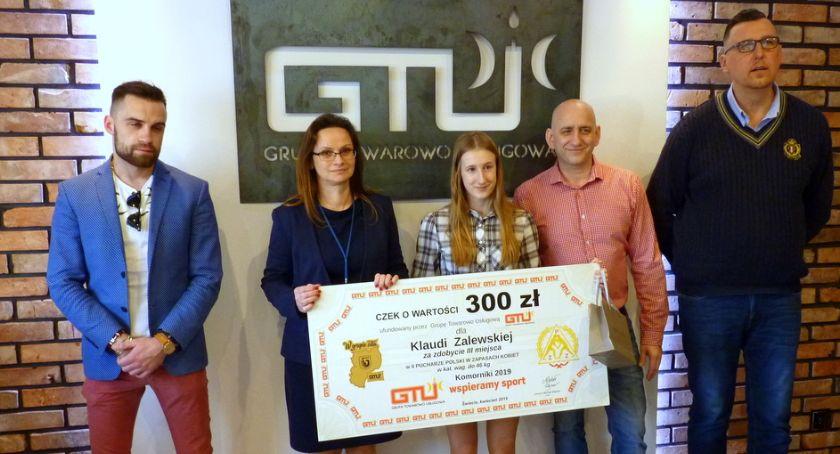Zapasy, Klaudia Zalewska podium zawodów Pucharu Polski - zdjęcie, fotografia