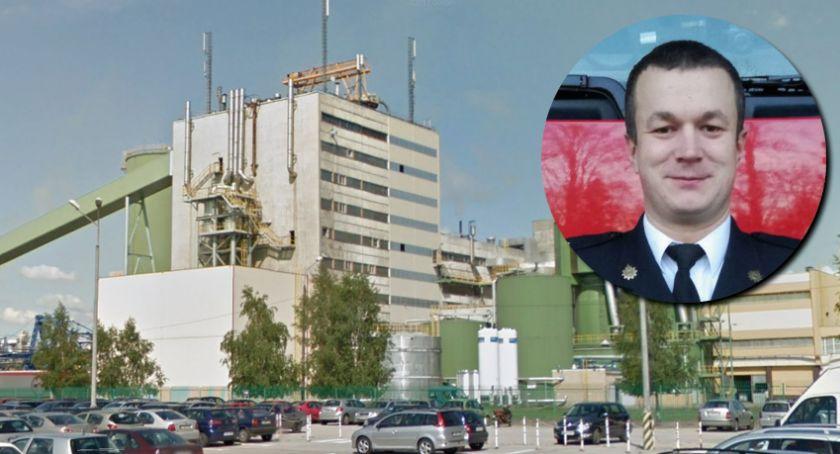 Akcja straży, Wyciek ługu sodowego Mondi Strażacy wyjaśniają dlaczego żrąca substancja wydostała instalacji - zdjęcie, fotografia