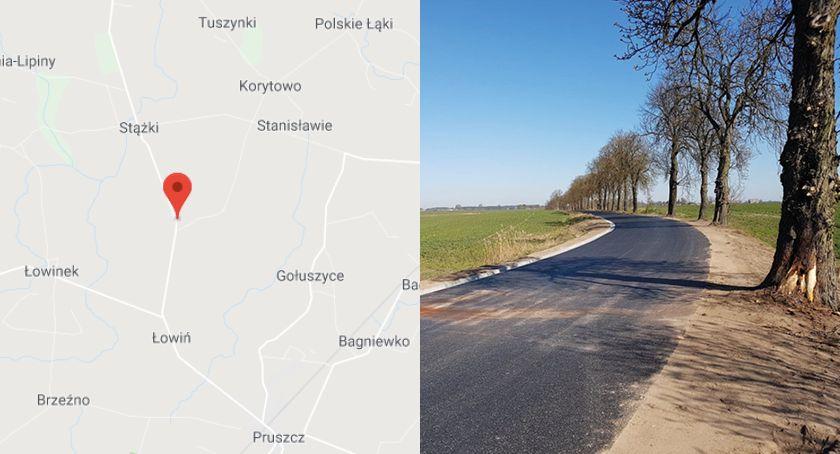 Wypadek drogowy, Łobocki żyje Policjant letnim stażem pozostawił żonę trójkę dzieci - zdjęcie, fotografia