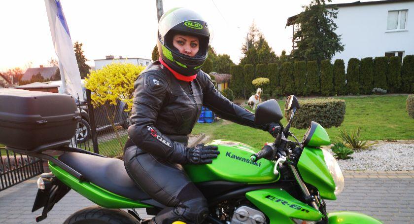Sylwetka, Aleksandra Hoffmann zakochana motocyklach Mogłabym jeść tydzień motocykl wsiądę [SYLWETKA] - zdjęcie, fotografia