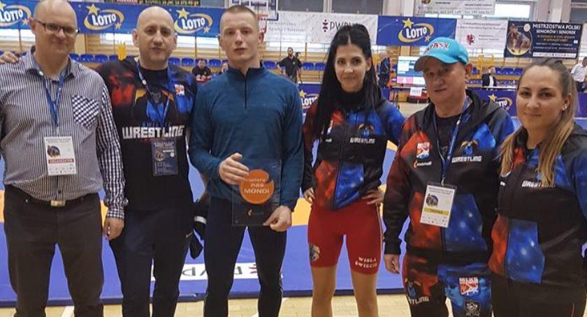 Zapasy, Kamila Słomska Sebastian brązowymi medalistami mistrzostw Polski!!! - zdjęcie, fotografia