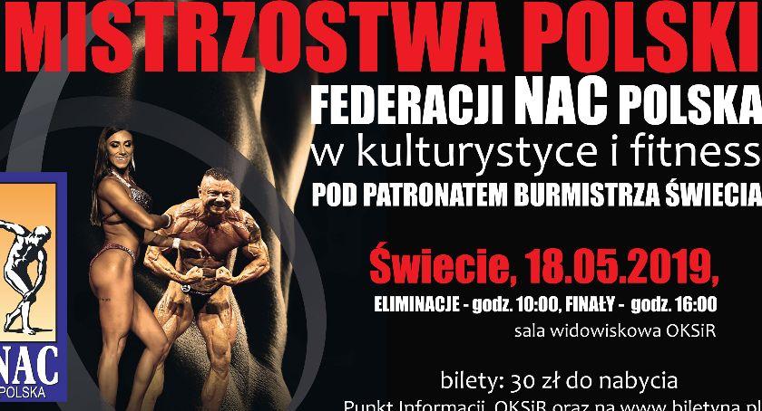 Imprezy, Mistrzostwa Polski Świeciu Zobaczymy najlepszych kulturystów Polsce! - zdjęcie, fotografia