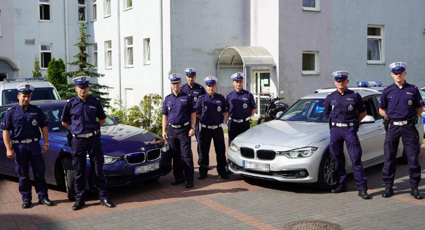 Akcja policji, Nieoznakowane beemki pojawią także drogach powiatu świeckiego Bądźcie czujni - zdjęcie, fotografia