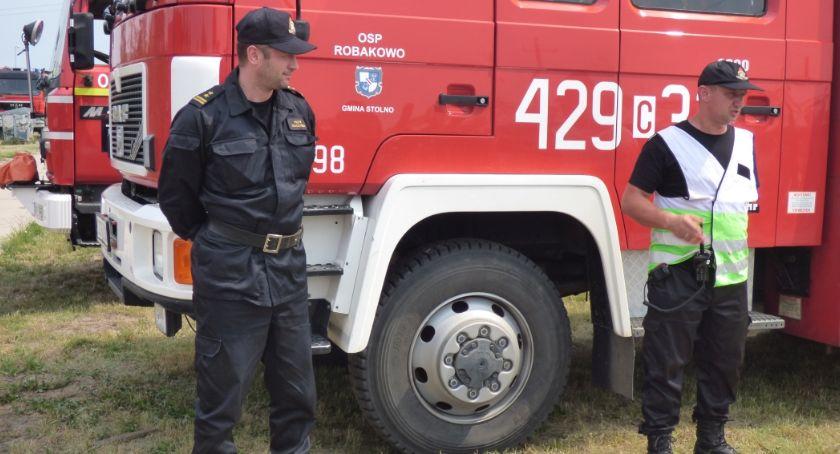 Akcja straży, Ćwiczenia przeciwpowodziowe Kończycach strażacy przygotowują walki żywiołem [ZDJĘCIA] - zdjęcie, fotografia