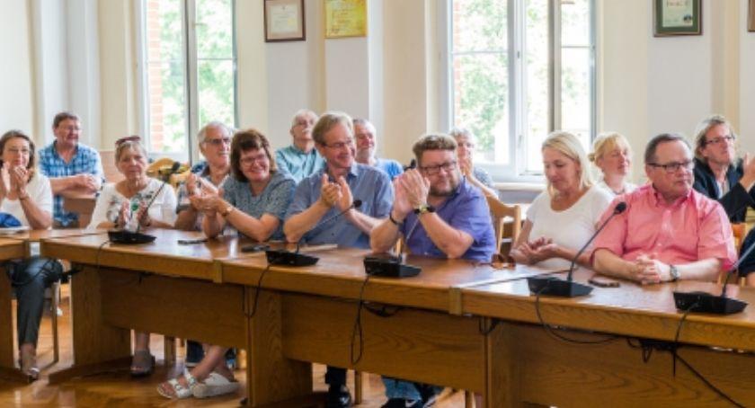 Samorząd, Goście Niemiec spędzili naszym mieście sześć - zdjęcie, fotografia