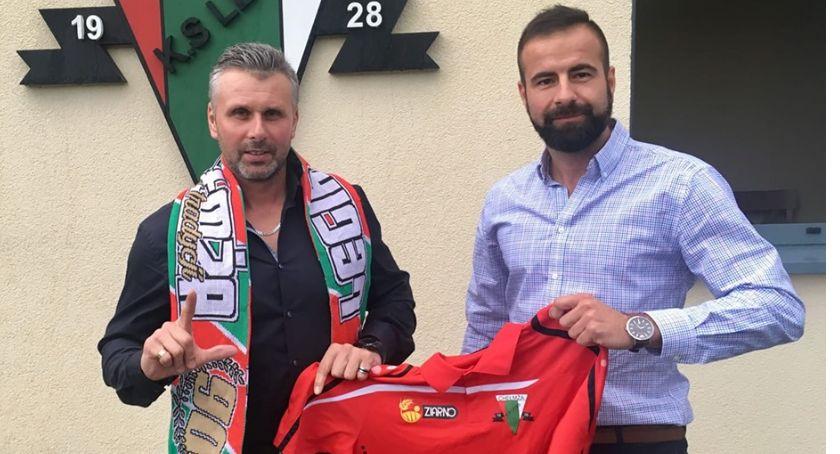 Piłka nożna, Mariusz Gralak został trenerem Legii Chełmża - zdjęcie, fotografia