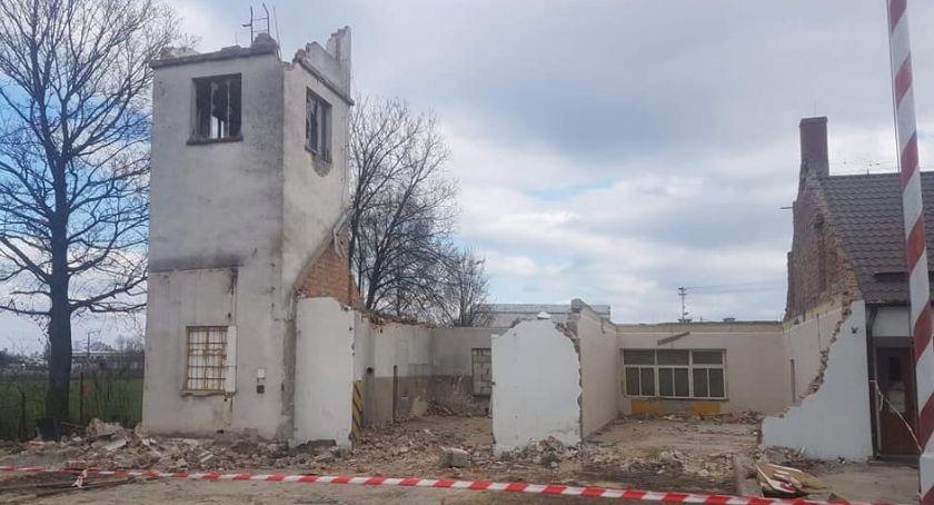 Inwestycje, Strażacy doczekali Rusza budowa remizy Kiedy powstanie budynek - zdjęcie, fotografia