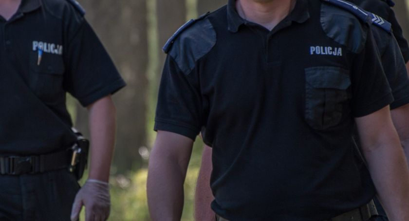Akcja policji, latek zginął porażony prądem Policja prowadzi śledztwo - zdjęcie, fotografia