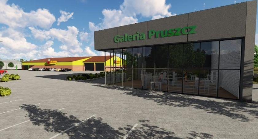 Inwestycje, Jakich sklepów mieszkańcy chcą Galerii Pruszcz Otwarcie początku przyszłego - zdjęcie, fotografia