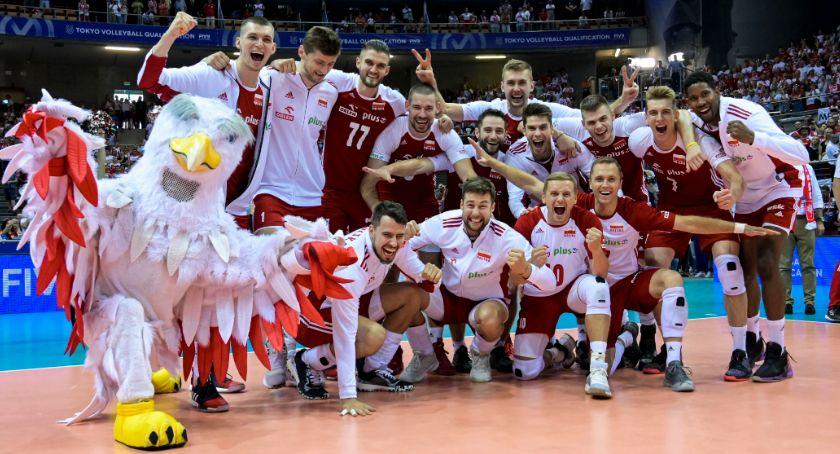 Siatkówka, Polscy siatkarze zagrają Igrzyskach Olimpijskich Tokio - zdjęcie, fotografia