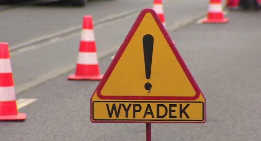 Wypadek drogowy, Utrudnienia Polskim Konopacie! odbywa wahadłowo - zdjęcie, fotografia