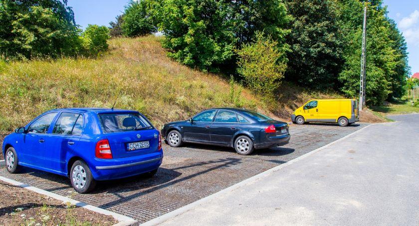 Inwestycje, Gmina oddała użytku parkingi Gdzie jeszcze przydały - zdjęcie, fotografia