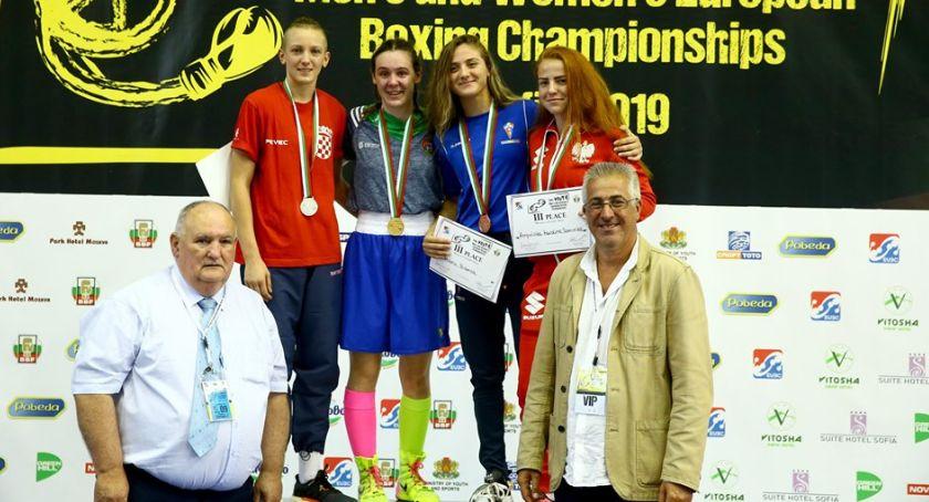 Boks, Karolina Ampulska brązową medalistką mistrzostw Europy boksie - zdjęcie, fotografia