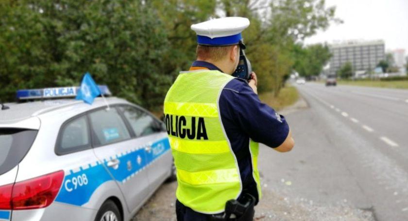 Akcja policji, prędkość stracili prawa jazdy Dokąd pędzili - zdjęcie, fotografia