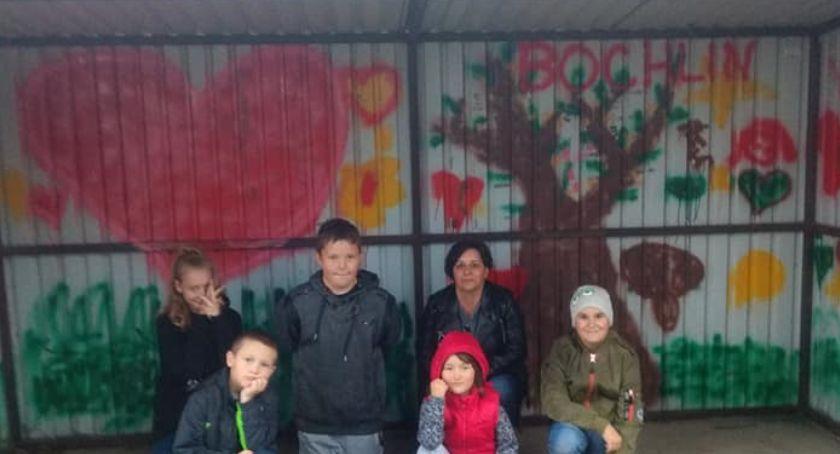 Newsy, Dzieci Bochlina walczą wandalizmem - zdjęcie, fotografia