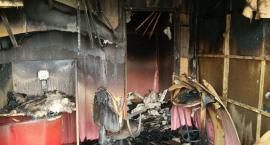 Pożar w Świeciu: 33 tys. zł strat, policja prowadzi dochodzenie