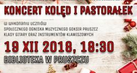 Biblioteka w Pruszczu - koncert kolęd i pastorałek