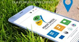 Aplikacja Powiat Świecki informuje o atrakcjach turystycznych regionu. Czeka na ściągnięcie